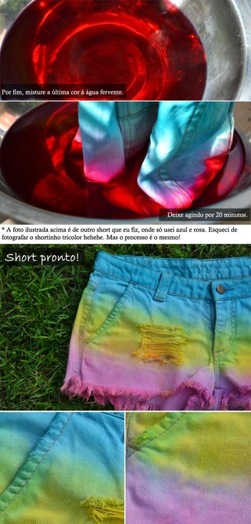 short colorido 2