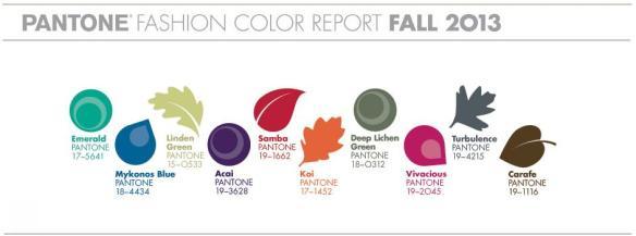 cores outono 2013